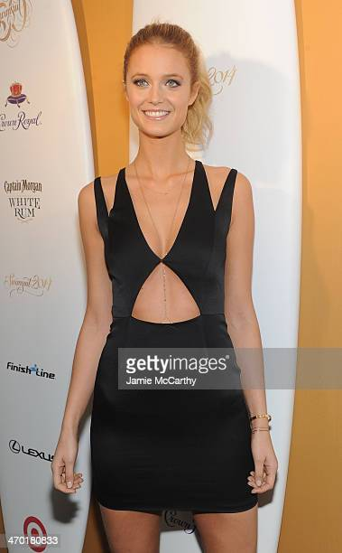 Model Kate Bock attends the Sports Illustrated Swimsuit 50 Years of Swim in NYC Celebration at the Sports Illustrated Swimsuit Beach House on...
