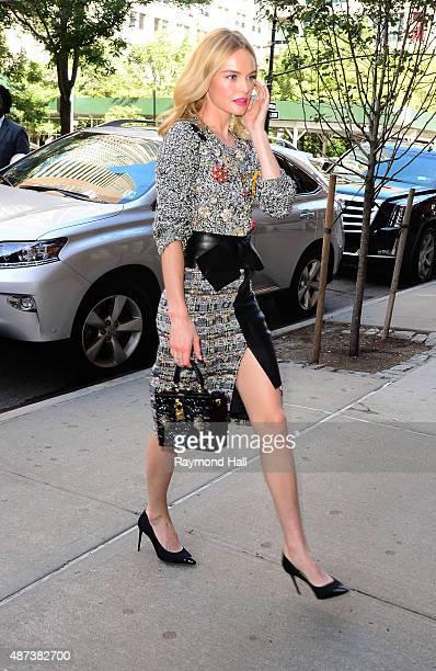 Model Kate Bosworth is seen walking in Soho on September 9, 2015 in New York City.