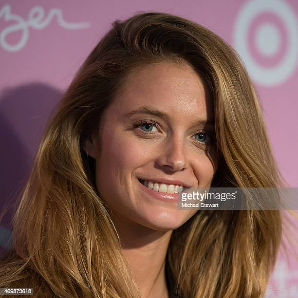 Model Kate Lynn Bock attends the Lilly Pulitzer for Target Launch at Bryant Park Grill on April 15 2015 in New York City