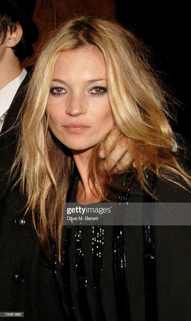 Model Kate Moss arrives at the Shockwaves NME Awards 2007, at the Hammersmith Palais on March 1, 2007 in London, England.