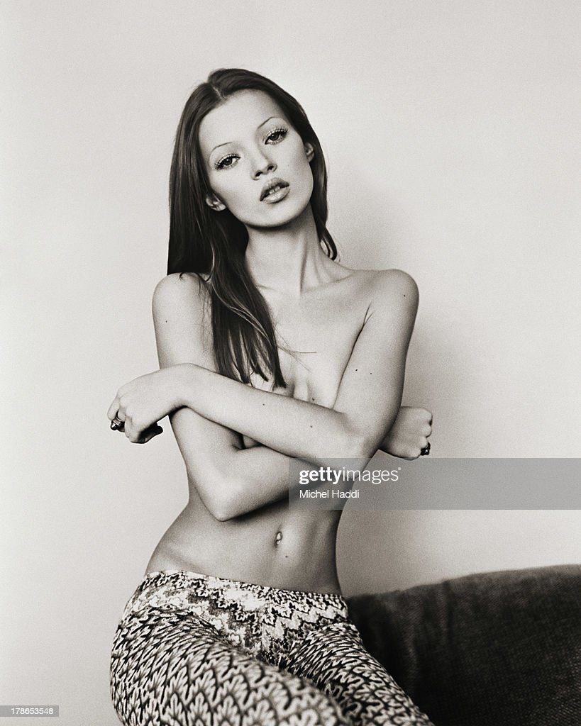 Kate Moss, GQ UK, 1991