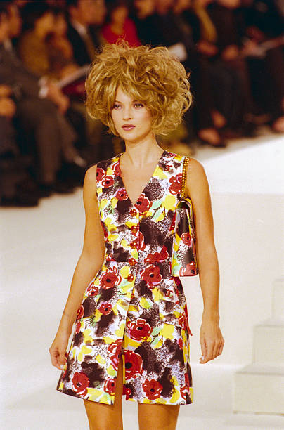 Kate Moss Chanel Runway