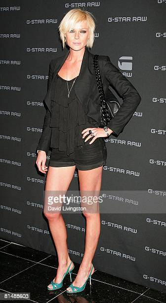 Model Kate Nauta attends GStar's launch of LA Raw Nights at GStar on June 4 2008 in Beverly Hills California