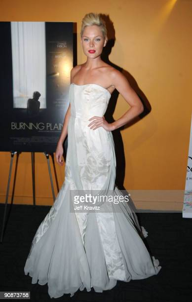 Model Kate Nauta attends the premiere of The Burning Plain at the Sunshine Cinema on September 16 2009 in New York City