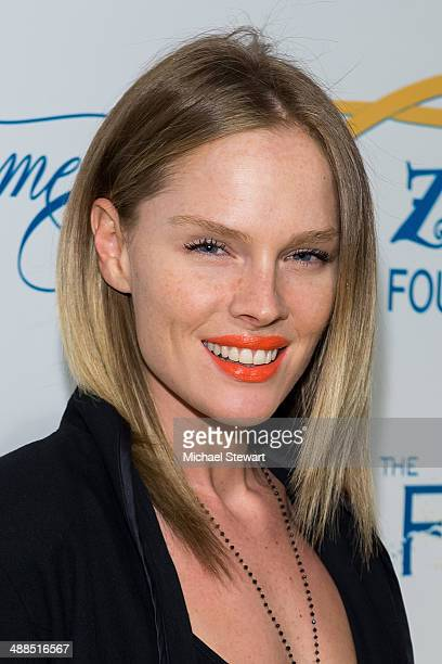 Model Kate Nauta attends Tyra Banks' Flawsome Ball 2014 at Cipriani Wall Street on May 6 2014 in New York City