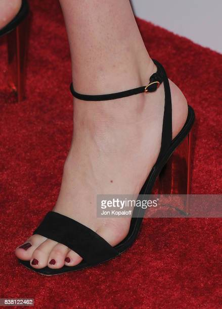 Model Kate Upton arrives at Los Angeles Premiere The Layover at ArcLight Hollywood on August 23 2017 in Hollywood California