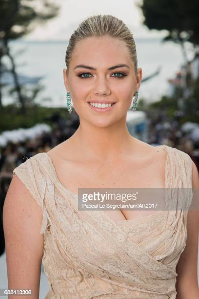 Model Kate Upton attends the amfAR Gala Cannes 2017 at Hotel du CapEdenRoc on May 25 2017 in Cap d'Antibes France
