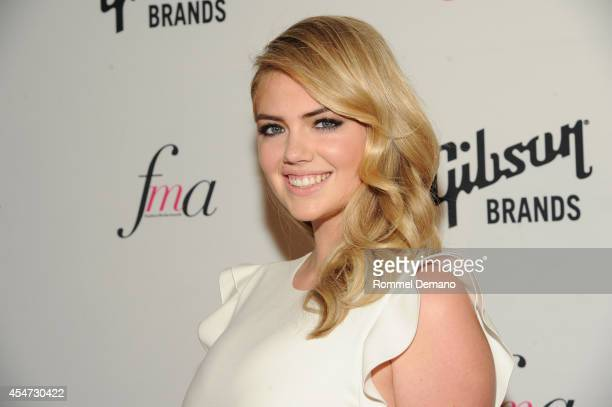 Model Kate Upton attends The Daily Front Row Second Annual Fashion Media Awards at Park Hyatt New York on September 5 2014 in New York City