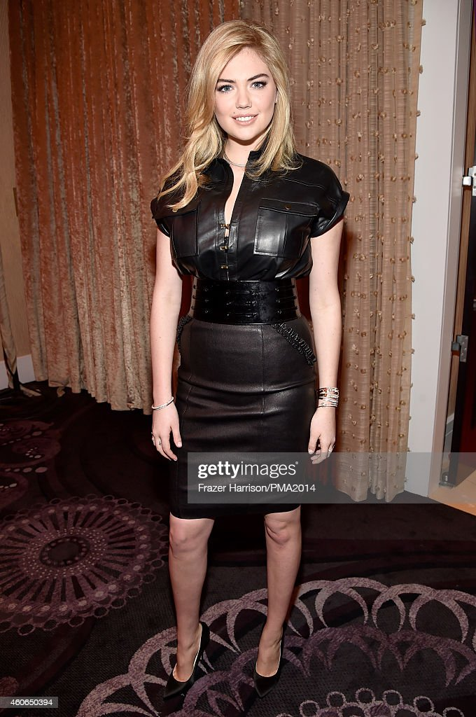 Model Kate Upton attends the PEOPLE Magazine Awards at The Beverly Hilton Hotel on December 18, 2014 in Beverly Hills, California.