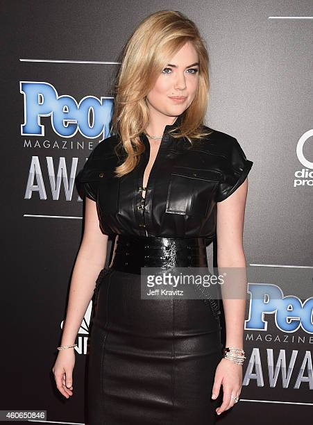 Model Kate Upton attends the PEOPLE Magazine Awards at The Beverly Hilton Hotel on December 18 2014 in Beverly Hills California