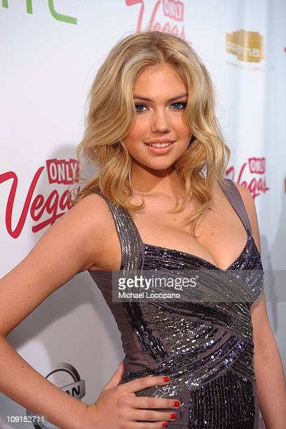 Model Kate Upton attends the SI Swimsuit Launch Party hosted By Pranna at Pranna Restaurant on February 15 2011 in New York City
