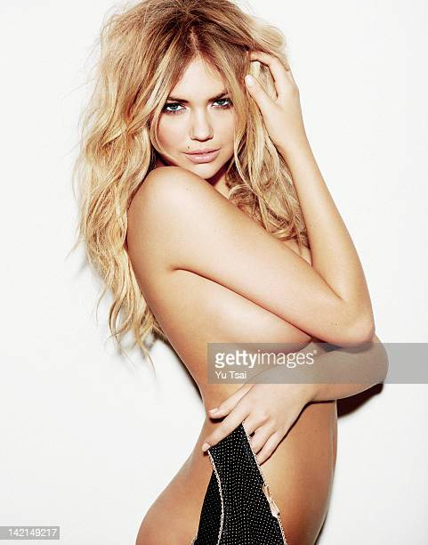 Model Kate Upton is photographed for Esquire Magazine on March 1 2012 in Los Angeles California
