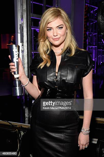 Model Kate Upton winner of PEOPLE's Sexiest Woman award attends the PEOPLE Magazine Awards at The Beverly Hilton Hotel on December 18 2014 in Beverly...