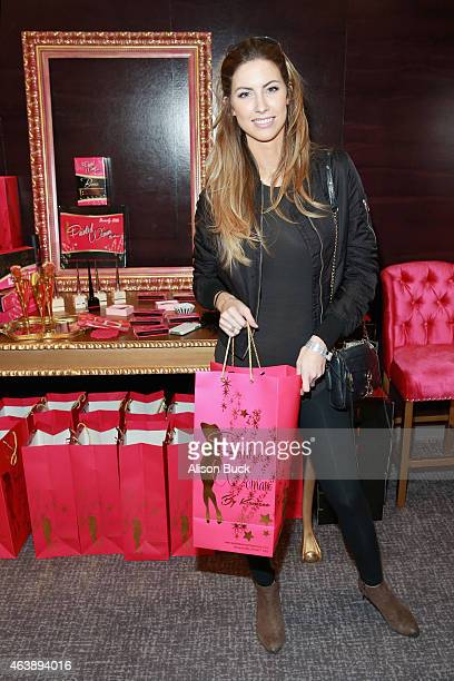 Model Katherine Webb attends Kari Feinstein's Style Lounge presented by Painted by Kameco at the Andaz West Hollywood on February 19 2015 in Los...
