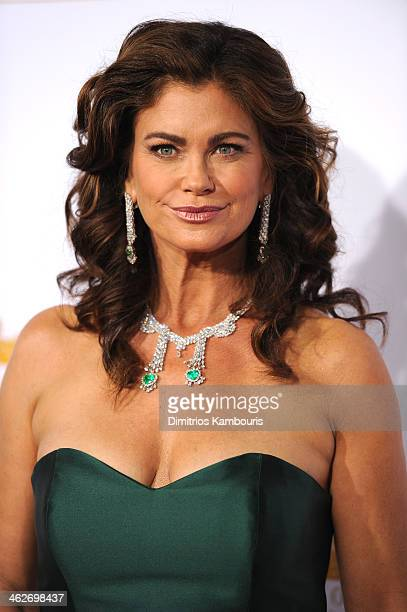 Model Kathy Ireland attends NBC and Time Inc celebrate the 50th anniversary of the Sports Illustrated Swimsuit Issue at Dolby Theatre on January 14...