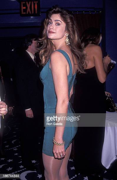Model Kathy Ireland attends the Party to Celebrate the 29th Edition of Sports Illustrated's Swimsuit Issue and Cover Model Kathy Ireland and HBO...