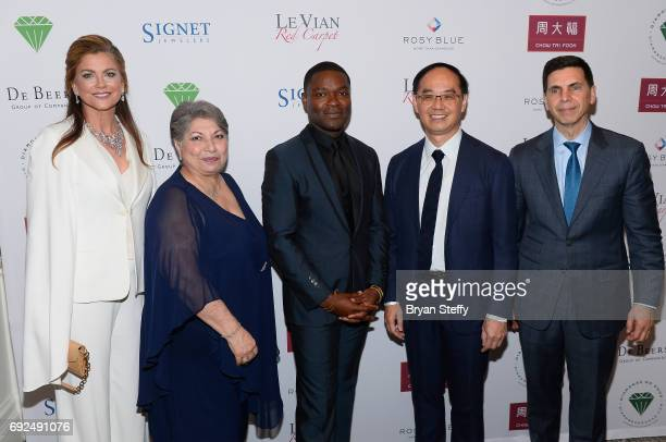 Model Kathy Ireland Diamond Empowerment Fund Board of Director President Gemological Institute of America Anna Martin actor David Oyelowo and Chow...