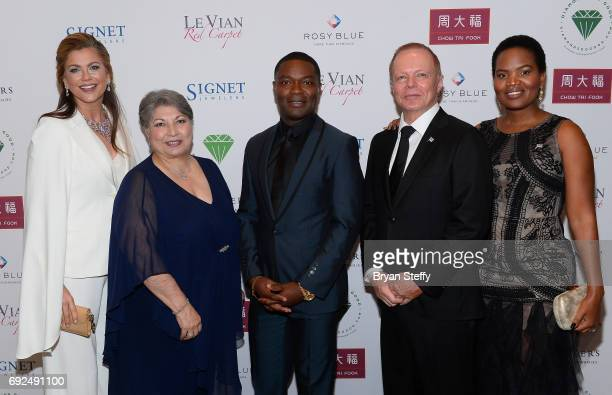 Model Kathy Ireland Diamond Empowerment Fund Board of Director President Gemological Institute of America Anna Martin actor David Oyelowo Ambassador...