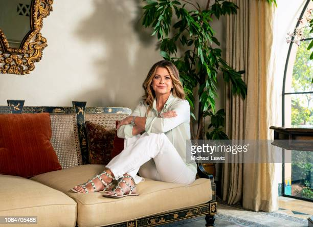 Model Kathy Ireland is photographed for Wall Street Journal on October 15 2018 in Santa Barbara California