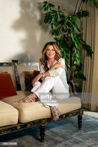 Model Kathy Ireland is photographed for Wall Street Journal on October 15 2018 in Santa Barbara California PUBLISHED IMAGE