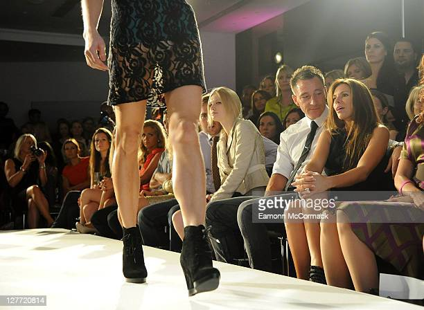 Model Katie E Footballer John Terry and Wife Toni Poole attend charity event 'Fashion for Good' at Brooklands Hotel on September 30 2011 in Weybridge...