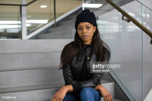 Model Kaye Li Taylor poses for a photo in New York Jan 24 2018 More than 50 models spoke to the Globe Spotlight Team about sexual misconduct they...