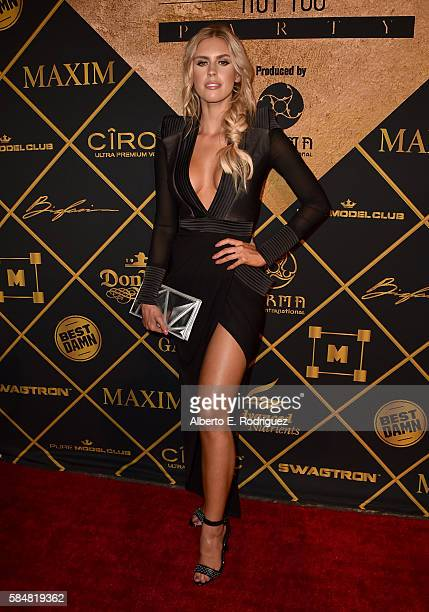 Model Kayla Rae Reid attends the Maxim Hot 100 Party at the Hollywood Palladium on July 30 2016 in Los Angeles California