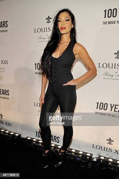 Model Kea Ho attends Louis XIII Celebration of '100 Years' The Movie You Will Never See starring John Malkovich at a private residence on November 18...