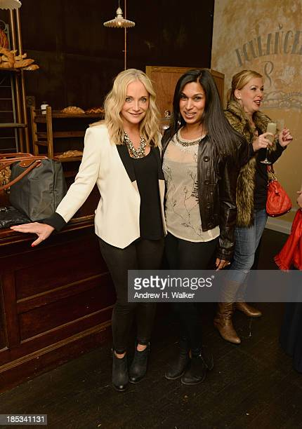 Model Kelly Barrett and Natasha Sugathapala attend Hannah Bronfman and GREY GOOSE Vodka host exclusive dinner experience at the Boulangerie Picardie...