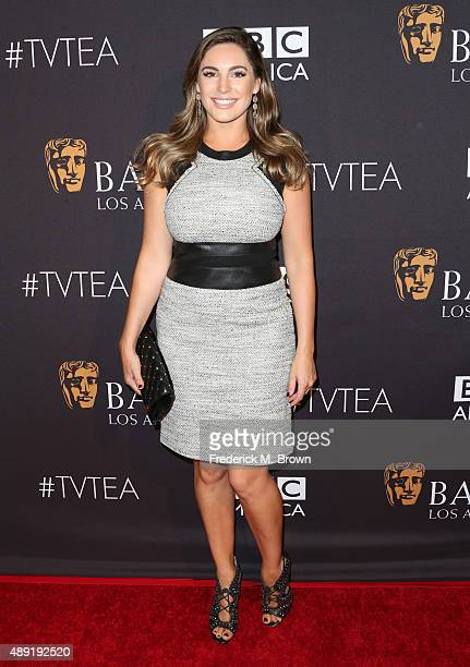 Model Kelly Brook attends the 2015 BAFTA Los Angeles TV Tea at SLS Hotel on September 19 2015 in Beverly Hills California