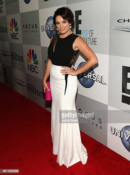 Model Kelly Brook attends Universal NBC Focus Features and E Entertainment 2015 Golden Globe Awards After Party sponsored by Chrysler and Hilton at...