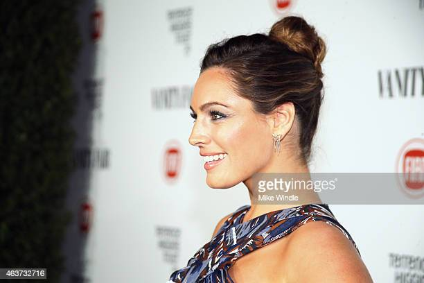 Model Kelly Brook attends Vanity Fair and FIAT celebration of Young Hollywood hosted by Krista Smith and James Corden to benefit the Terrence Higgins...