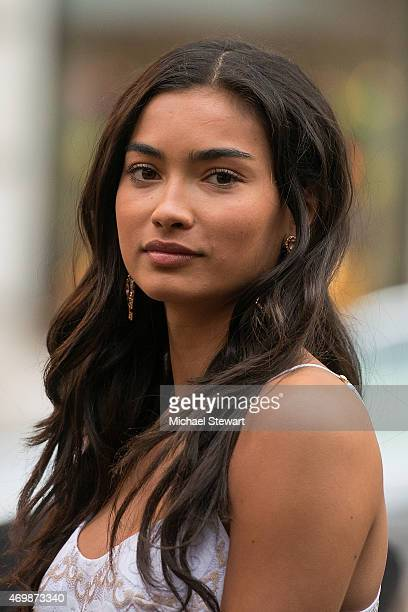 Model Kelly Gale attends the Lilly Pulitzer for Target Launch at Bryant Park Grill on April 15 2015 in New York City