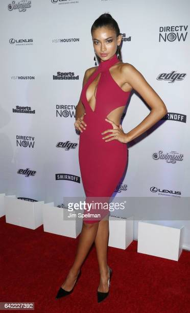 Model Kelly Gale attends the Sports Illustrated Swimsuit 2017 launch event at Center415 Event Space on February 16 2017 in New York City