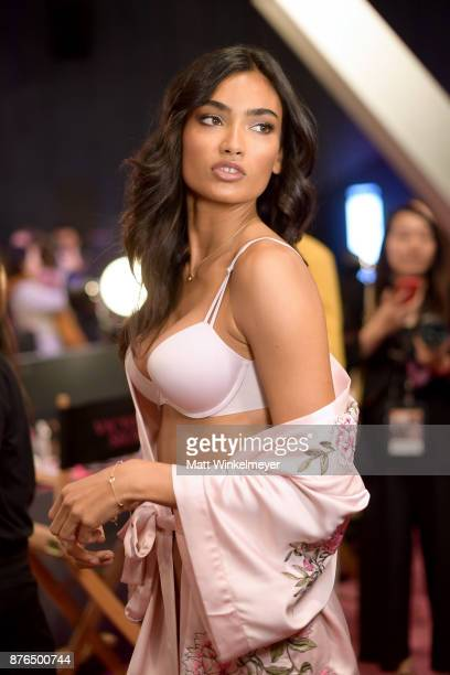Model Kelly Gale poses during 2017 Victoria's Secret Fashion Show In Shanghai at MercedesBenz Arena on November 20 2017 in Shanghai China