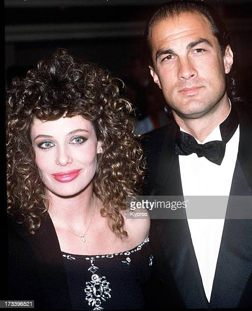 Model Kelly LeBrock and her husband, actor Steven Seagal attend the 16th Annual American Film Institute Lifetime Achievement Awards Honoring Jack...