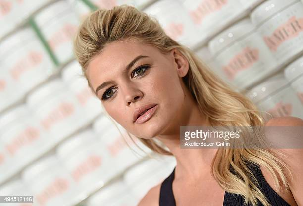 Model Kelly Rohrbach arrives at the La Mer Celebrates 50 Years Of An Icon at Siren Studios on October 13 2015 in Hollywood California