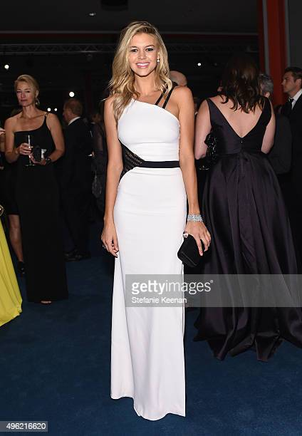 Model Kelly Rohrbach attends LACMA 2015 ArtFilm Gala Honoring James Turrell and Alejandro G Iñárritu Presented by Gucci at LACMA on November 7 2015...
