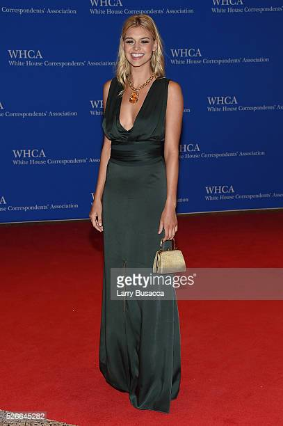 Model Kelly Rohrbach attends the 102nd White House Correspondents' Association Dinner on April 30 2016 in Washington DC