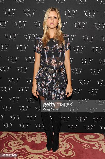 Model Kelly Rohrbach attends The Cut New York Magazine's Fashion Week Party at Gramercy Park Hotel on February 18 2015 in New York City