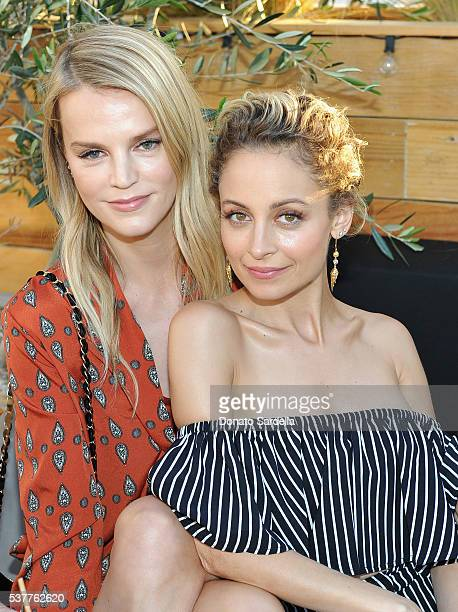 Model Kelly Sawyer and designer Nicole Richie attend House of Harlow 1960 x REVOLVE on June 2, 2016 in Los Angeles, California.