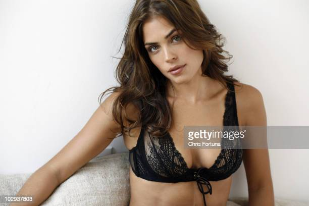 Model Kelly Thiebaud poses at a portrait session for Maxim in Los Angeles CA on December 1 2009 NO SALES TO GQ ESQUIRE FHM DETAILS LOADED PLAYBOY...