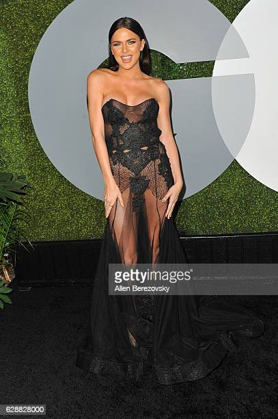 Model Kelsie Smeby attends GQ Men of The Year Party at Chateau Marmont on December 8 2016 in Los Angeles California