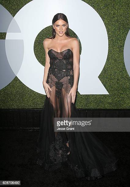 Model Kelsie Smeby attends the 2016 GQ Men of the Year Party at Chateau Marmont on December 8 2016 in Los Angeles California