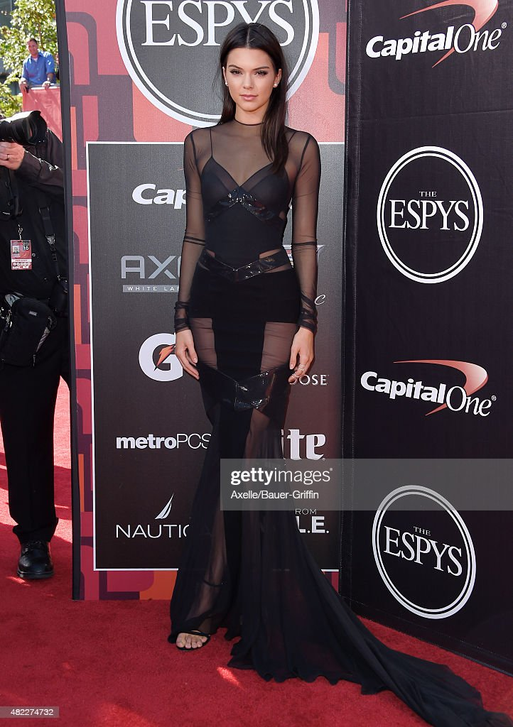 Model Kendall Jenner arrives at The 2015 ESPYS at Microsoft Theater on July 15, 2015 in Los Angeles, California.
