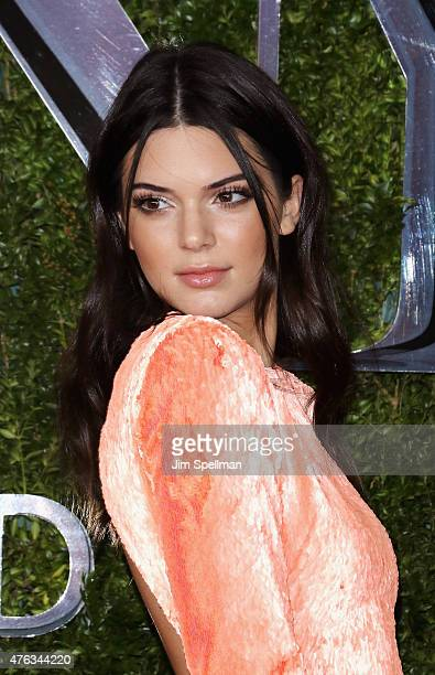 Model Kendall Jenner attends American Theatre Wing's 69th Annual Tony Awards at Radio City Music Hall on June 7 2015 in New York City