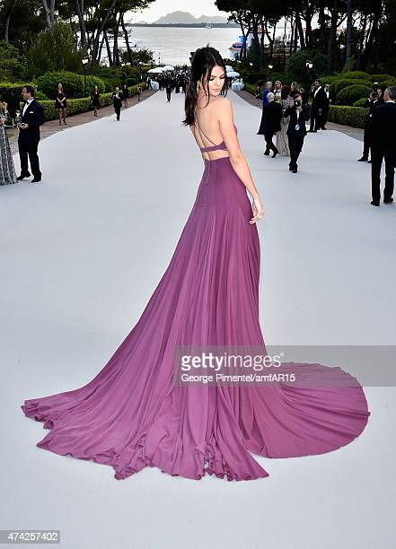 Model Kendall Jenner attends amfAR's 22nd Cinema Against AIDS Gala, Presented By Bold Films And Harry Winston at Hotel du Cap-Eden-Roc on May 21,...