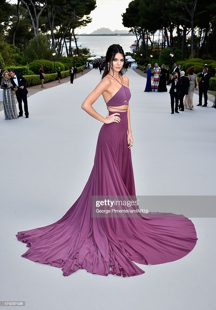 Model Kendall Jenner attends amfAR's 22nd Cinema Against AIDS Gala, Presented By Bold Films And Harry Winston at Hotel du Cap-Eden-Roc on May 21, 2015 in Cap d'Antibes, France.