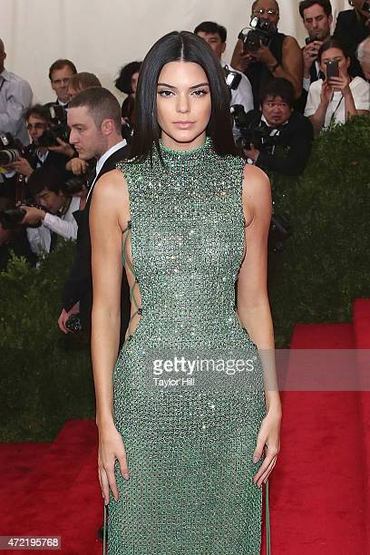 Model Kendall Jenner attends 'China Through the Looking Glass' the 2015 Costume Institute Gala at Metropolitan Museum of Art on May 4 2015 in New...