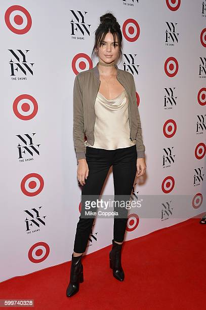 Model Kendall Jenner attends Target IMG's NYFW kickoff at The Park at Moynihan Station on September 6 2017 in New York City